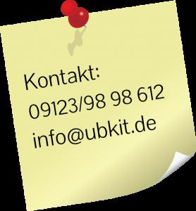 Kontaktdaten UBK